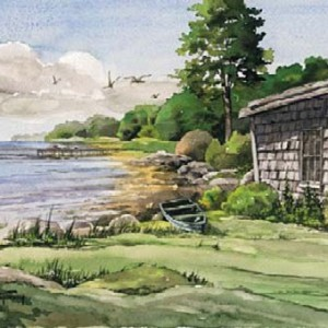 Watercolors - Out to Patten Point
