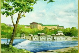 Watercolors - Waterworks & Art Museum