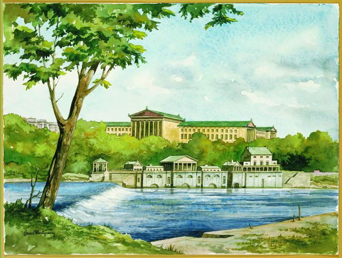 Watercolors - Waterworks & Art Museum