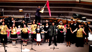 Creative Arts Morgan Village Academy Choir