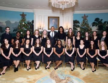 Penn Sirens at the White House